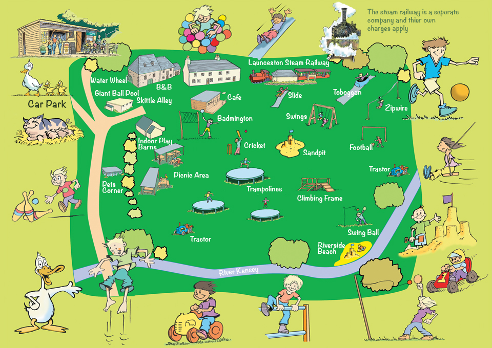 Map of our farm park